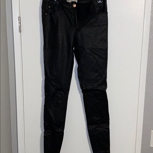 Cotton On - Faux leather coated skinny jean
